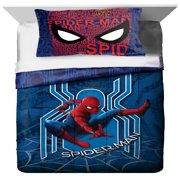 Spiderman Kids Bedding Twin/Full Comforter and Sham, 2 Piece