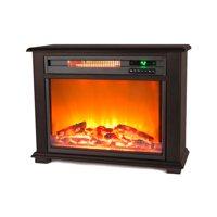 Lifesmart Infrared Medium Infrared Dark Oak Fireplace with Remote