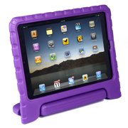 HDE iPad Air 2 Case for Kids Shockproof iPad Air 2 Cover Handle Stand for 6th Generation iPad Air 2 (Purple)