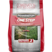 Pennington One Step Grass Seed for Sun And Shade, Mulch Plus Fertilizer, 10 Pounds