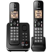 Panasonic KX-TGC362B Dect 6.0 2-Handset Landline Telephone