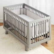4e1fd1e0815 Breathable Baby Classic Breathable Mesh Crib Liner- Gray