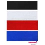 Kenz Laurenz Sweatbands 4 Terry Cotton Sports Headbands Sweat Absorbing  Head Bands Basic Colors e57ebfe1381