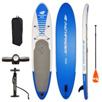 PathFinder Vilano Inflatable SUP Stand Up Paddle Board, Fin, Pump, Paddle & Carry Bag