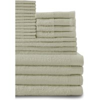 Baltic Linen Company 24 Piece Multi Count Complete Cotton Towel Set