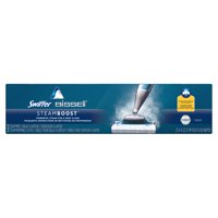 Swiffer SteamBoost Deep Cleaning Steam Mop Starter Kit, powered by Bissel for Floors including Hardwood, Includes: 1 Steam Mop, 2 Steam Mopping Cloths
