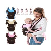 Adjustable 4-Positions, 360° Ergonomic Baby & Child Infant Toddler Front and Back Carrier Backpack ,  Soft & Breathable Cotton All Season