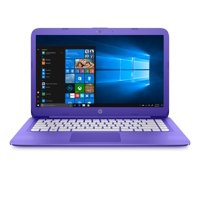 "HP Stream 14-AX050NR Violet Purple 14"" Laptop, Windows 10 Home, Office 365 Personal 1 year subscription included, Celeron N3060 DC Processor, 4GB Memory, 64GB eMMC Hard Drive"