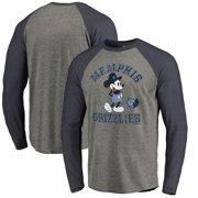 f7732b632 Memphis Grizzlies Fanatics Branded Disney Tradition Long Sleeve Tri-Blend  Raglan T-Shirt -