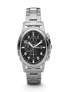 Free shipping. Product Image Fossil Men's Dean Silver Tone Stainless Steel Chronograph Watch (Style: FS4542)