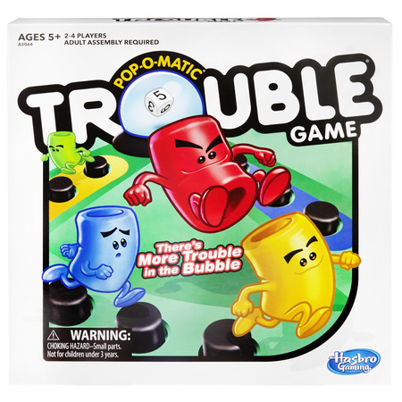 Trouble Board Game for Kids Ages 5 and Up 2-4 Players - Team Building Games For Halloween