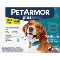 PetArmor Plus Flea & Tick Prevention for Medium Dogs (23 to 44 Pounds)