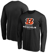 Cincinnati Bengals NFL Pro Line by Fanatics Branded Team Lockup Long Sleeve  T-Shirt - 0a5338019