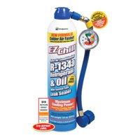 EZ Chill Auto Air Conditioning R-34a Refrigerant & Oil, 18 oz