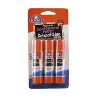 (2 Pack) Elmer's Washable School Glue Sticks, 3-Stick Set