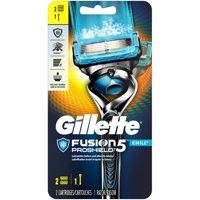 Gillette Fusion5 ProShield Chill Mens Razor, Handle & 2 Blade Refills
