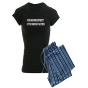 CafePress - Dangerously Overeducated - Women's Dark Pajamas