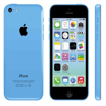 Refurbished Apple iPhone 5c 16GB, Blue - Unlocked GSM ()
