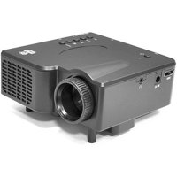 Pyle PRJG45 - Multimedia Home Theater Mini Projector with HDMI, AV, VGA Inputs, SD Memory Card and USB Flash Readers