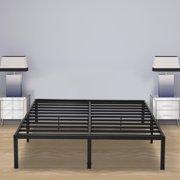 GranRest 14'' Innovative Metal Platform Bed Frame, Queen