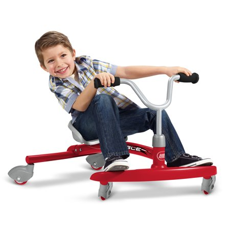Radio Flyer, Ziggle, Caster Ride-On for Kids, Red](Ride A Dragon)