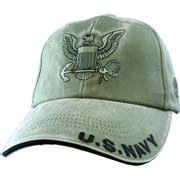 1ba2d7645e9 U.S. Navy Ball Cap Olive Drab Green