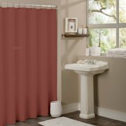 264211b90c8 Sweet Home Collection Anti-Mildew Vinyl Shower Curtain Liner with Metal  Grommets