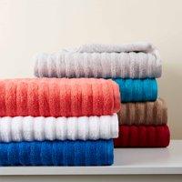 Mainstays Performance Texture 6-Piece Bath Towel Set