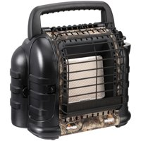 Mr Heater MH12B 12000 BTU Hunting Buddy Portable Propane Gas Heater, Camo