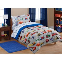 Mainstays Kids' Transportation Coordinated Bed in a Bag