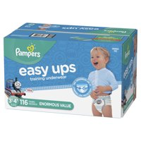 Pampers Easy Ups Training Underwear Boys Size 5 3T-4T 116 Count