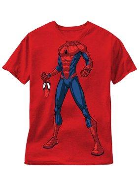 Short Sleeve Spiderman Costume Tee Shirt (Little Boys)