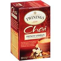 Twinings of London® French Vanilla Chai 20 ct Tea Bags 1.41 oz. Box
