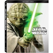 Star Wars Trilogy: Episodes I-III (Blu-ray + DVD)