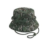 OTTO Camouflage Cotton Twill Bucket Hat - Gry Dk.Grn a323c08d8a6