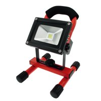 Techno Earth Portable Ultra Bright Cordless Rechargeable Led Flood Spot Work Light Lamp 10W Water Resistant - Red