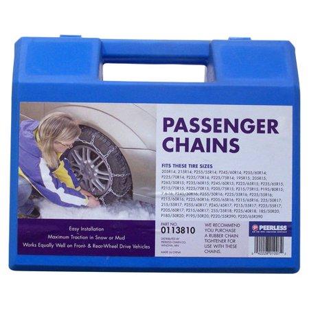 Peerless Passenger Car Tire Chains 113810 Walmart Com