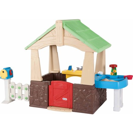 Little Tikes Deluxe Home and Garden Playhouse ()