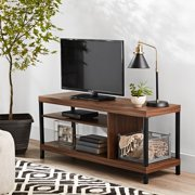 """Mainstays Sumpter Park Collection Media TV Stand for TVs up to 42"""", Multiple Finishes"""