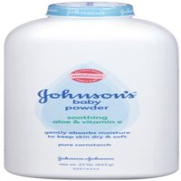 JOHNSON'S Pure Cornstarch Baby Powder 22 oz (Pack of 4)