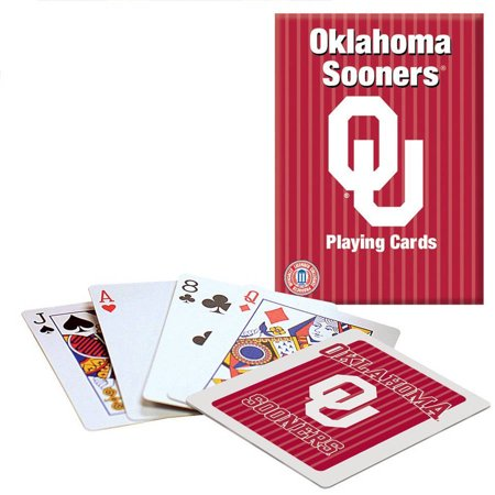 - Officially Licensed NCAA Oklahoma Playing Cards