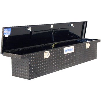Better Built Black Low Profile Full Size Slimline Box