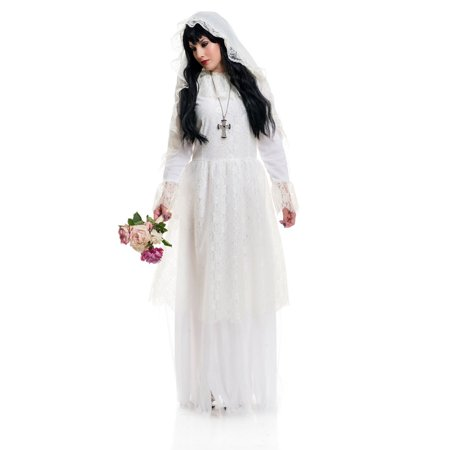 Gothic Bride Halloween Costume Uk (Halloween Nightshade Bride Adult)
