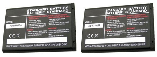 Replacement Battery For Samsung Heat 2 / Nimbus Mobile Phones - AB463446BA (800mAh, 3.7v, Li-Ion) - 2 (Heat Mobile)