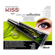 KISS Ever EZ Aloe Vera Adhesive, Latex Black