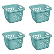Sterilite, 1.5 Bushel/53 L Ultra™ Square Laundry Basket, Teal Splash, Case of 4