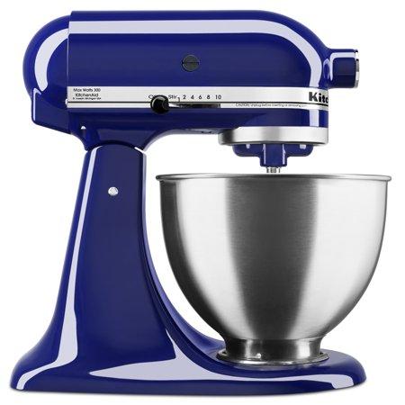 KitchenAid Deluxe 4.5 Quart Tilt-Head Cobalt Blue Stand ...