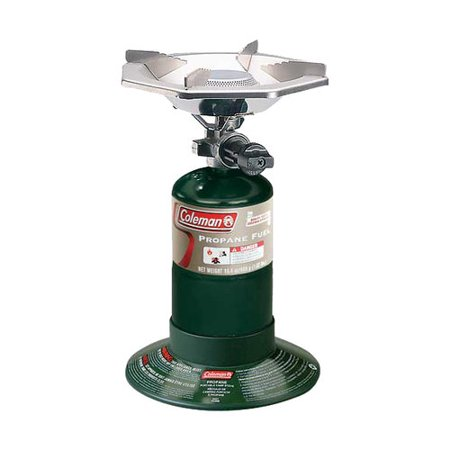 - Coleman Portable Bottletop Propane Gas Stove with Adjustable Burner