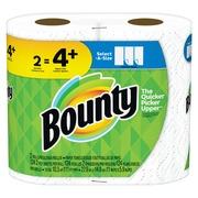 Bounty Select-A-Size Paper Towels, White, 2 Bulk Rolls = 4+ Regular Rolls