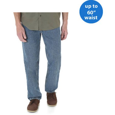 Big Mens Wrangler Jeans - Wrangler Big Men's Relaxed Fit Jean